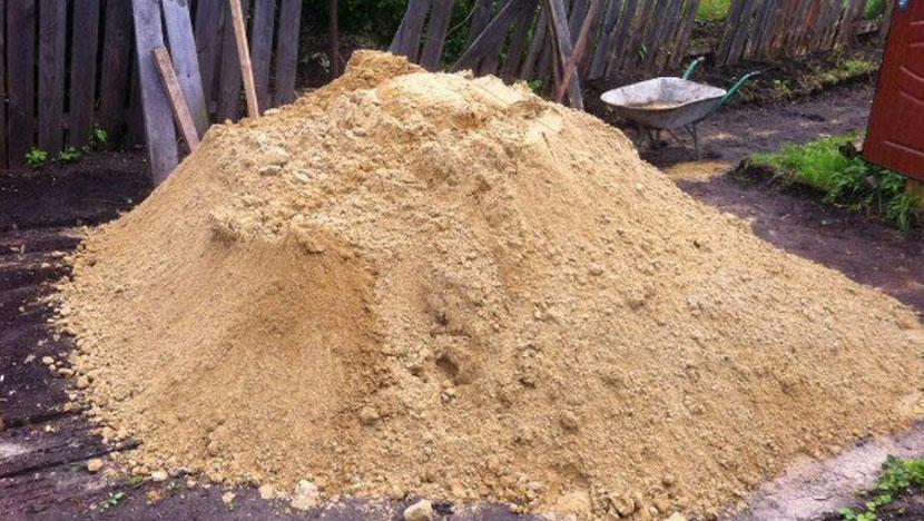 Заказ песка – доставка через час!