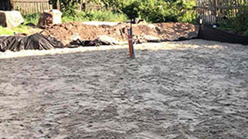 Выравнивание участка в Орехово-Зуево с последующей засыпкой песком