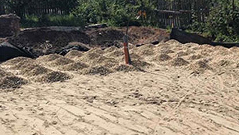 Доставка известкового щебня в д. Кабаново