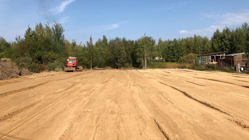 Выравнивание участка в Орехово-Зуево