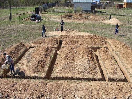 Фундамент на песчаном грунте: 2 варианта обустройства