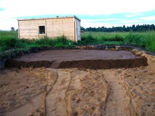 4 проблемы, которые решит отсыпка участка под фундамент